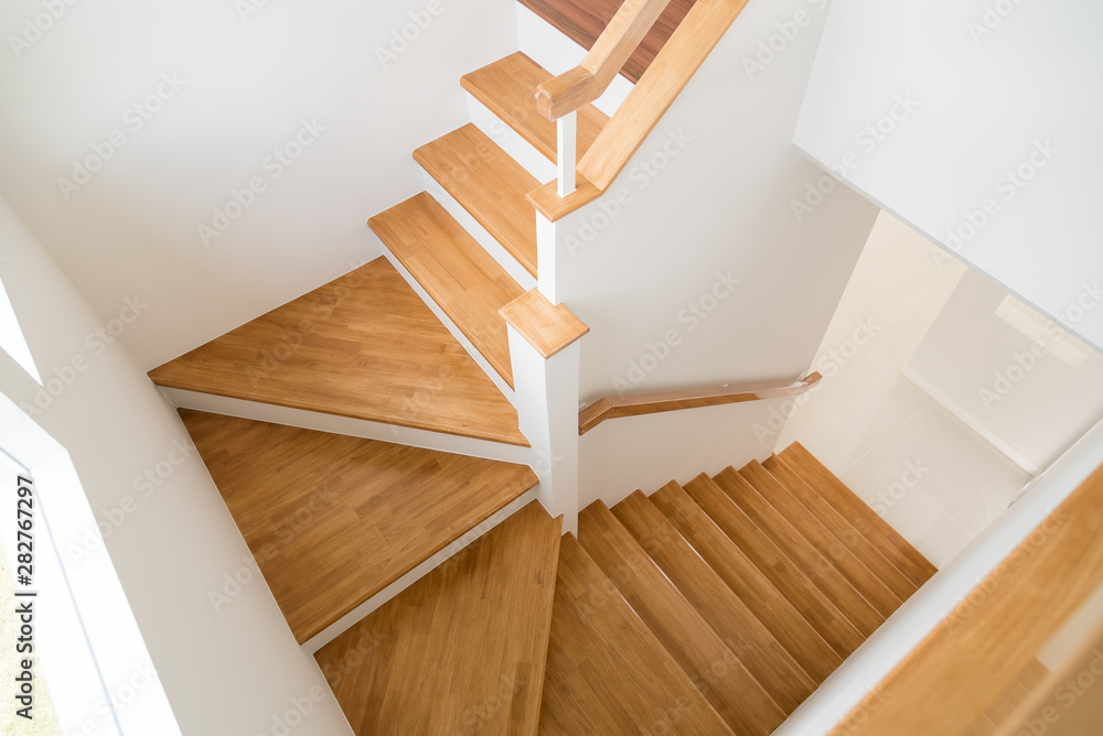 Fototapeta Pattern of Wooden stairs.
