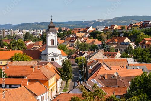 Eger city, Hungary Canvas-taulu