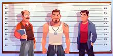 Police Lineup, Identity Parade...