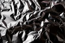 Texture Of Crumpled Aluminum F...