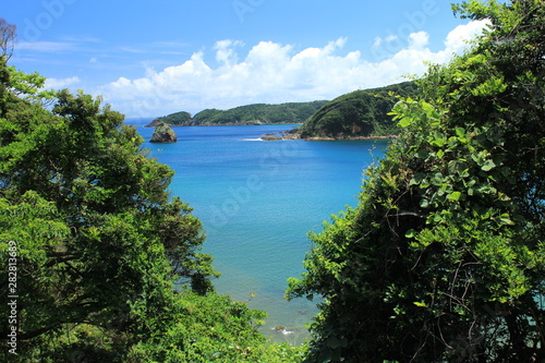 Foto op Plexiglas Caraïben 伊豆下田 夏の外浦海岸