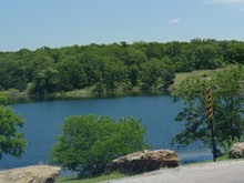 Refreshing Waters Of A Lake At...
