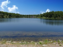 Scenic Wide Shot Of A Lake At ...