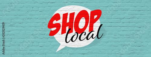 Shop local Fototapeta