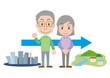 田舎暮らし 老夫婦 移住 高齢者