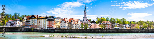 famous old town of bad toelz - bavaria