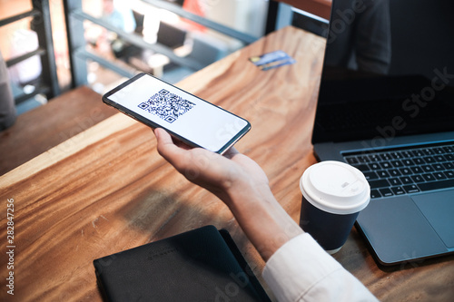 Qr code payment Canvas-taulu