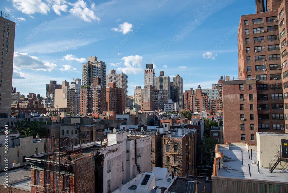 Fototapety, obrazy: Upper East Side in Manhattan from a high up location