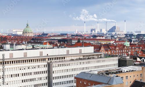 Photo  Copenhagen, Denmark. Modern cityscape
