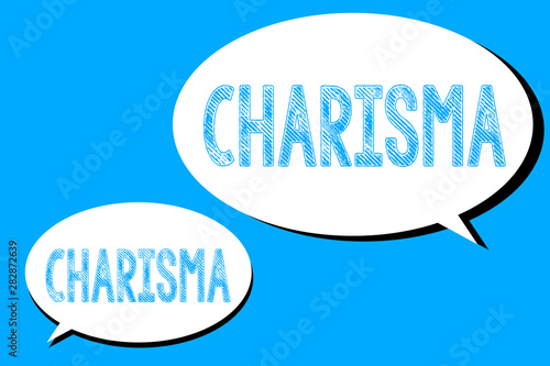 Photo Word writing text Charisma