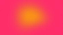 Orange And Magenta Retro Pop A...