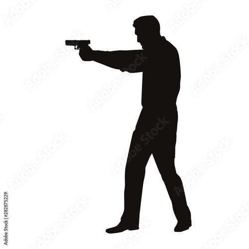 Photo  Man With Gun