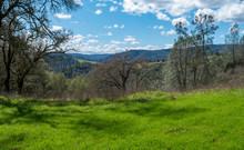 Sierra Nevada Foothills Cloudy...