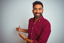 Young Indian Man Wearing Red E...