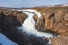 Waterfall On The Hikikal River...