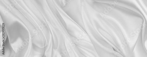 White silk fabric lines Slika na platnu