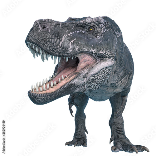 tyrannosaurus rex is looking for food Tablou Canvas