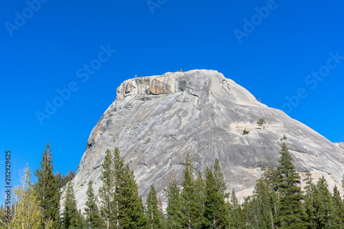 Large Mountain in Yosemite at Tioga Pass