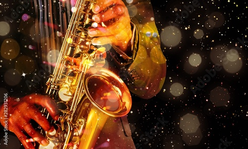 Jazz. Canvas Print
