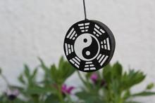 Background With Ying Yang Symbol - Zen Garden