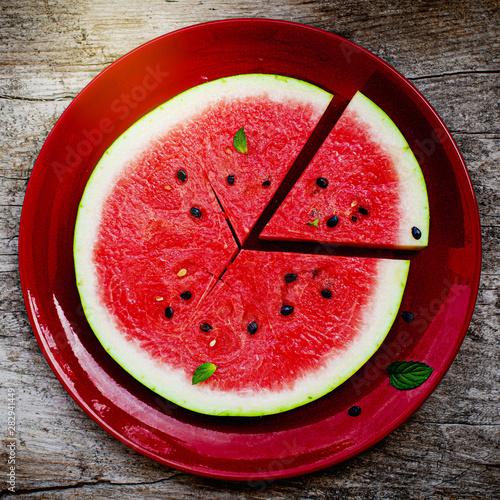 Poster Légumes frais fresh watermelon