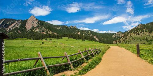 Photo Chautaqua Trail Boulder Colorado