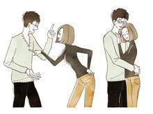 カップル-夫婦-喧嘩-仲...