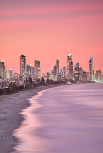 Surfers Paradise Skyline Gold ...