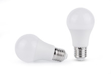 LED Light Bulb Isolated On Whi...