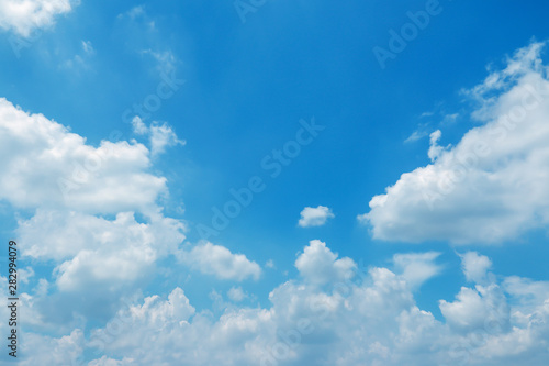 obraz lub plakat sky-clouds background.