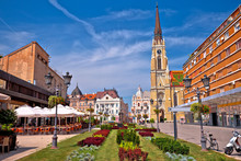 Novi Sad Square And Architectu...