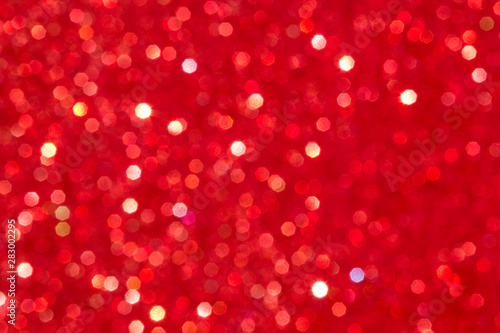 obraz PCV Red glitter background