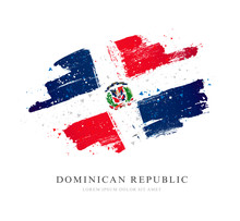 Flag Of The Dominican Republic...
