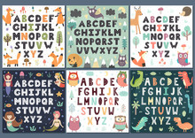Alphabets Collection With Cute...