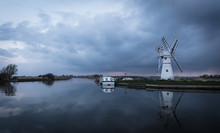 Thurne Dyke Drainage Mill, Nor...