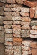 Broken Bricks On Construction ...