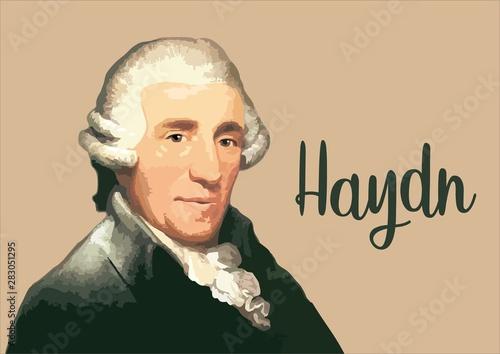 Fotografie, Obraz Great composers - Joseph Haydn