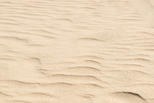 Nature Backround Of Smooth Sand Wave Texture