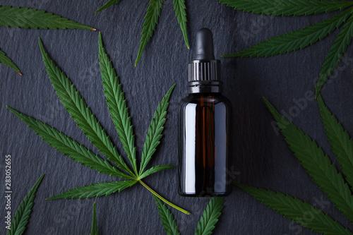 Fototapeta cannabis oil extracts obraz
