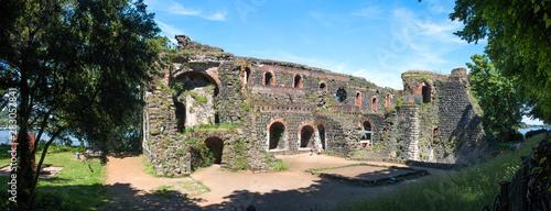 Ruin of the Kaiserpfalz in Kaiserswerth Düsseldorf North Rhine-Westphalia Canvas Print
