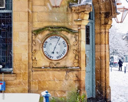 Poster Imagination old clock
