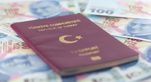 Turkish Passport And Turkish L...