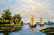 Oil Paintings Landscape, Fine ...