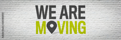 Fotografiet  We are moving