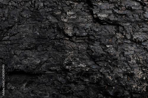 Dark texture of black color. Poster Mural XXL