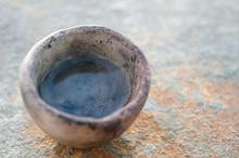 Simple Pure Water Element In Primitive Vessel.