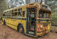 School Bus 1950's Vintage