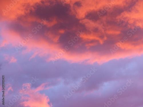 Papiers peints Corail Ciel nuage coucher de soleil Sky cloud sunset