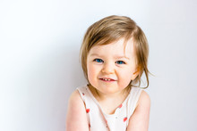 Happy Smiling Funny Toddler Ch...