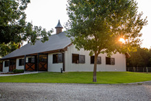 Stable At Sunrise